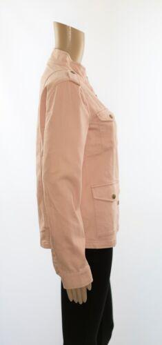 Melanie Blush Military Pink Jacket Boden Lommer Buttons vRxFtwvBq