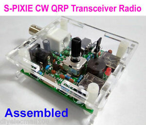 Assembled-9-13-8V-S-PIXIE-CW-QRP-Shortwave-Radio-Transceiver-7-023Mhz-With-Case