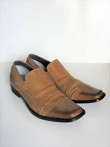 Details about Men's Slip on Dress Shoe Backstage by Skechers Leather 10