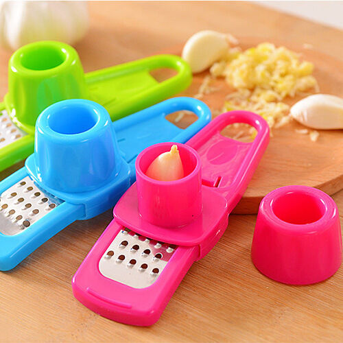 Random Color Creative Simple Grind Garlic Ginger Device Kitchen Tools Mill 2015