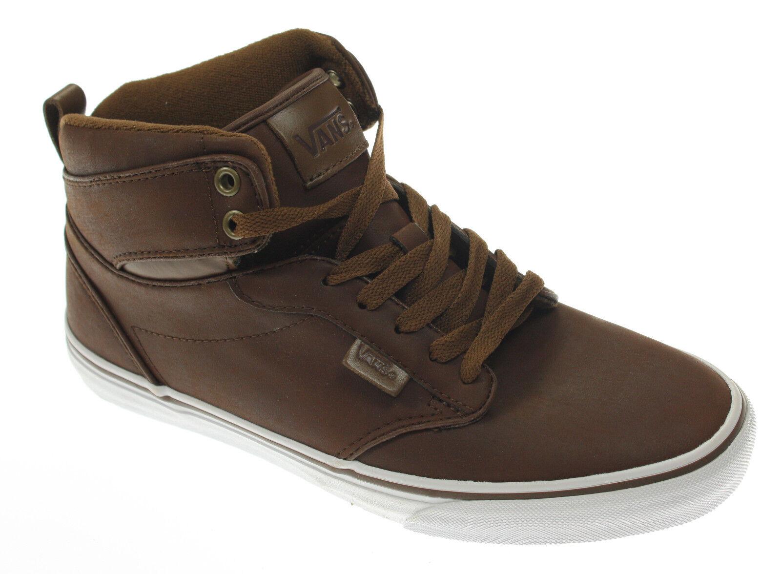 Vans Atwood Hi Sneakers, Freizeitschuhe, Größe 40, braun, Unisex, UVP  74,95