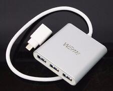 WEme WM-3043G Aluminum 4 Ports USB 3.0 Hub with Type-C Thunderbolt Usb 3.1