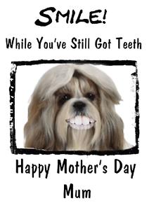 image is loading shih tzu dog mother 039 s day card