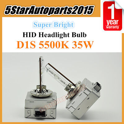 2x D8S OEM HID Xenon Headlight Replacement for Philips or OSRAM Bulbs 35W 5500K
