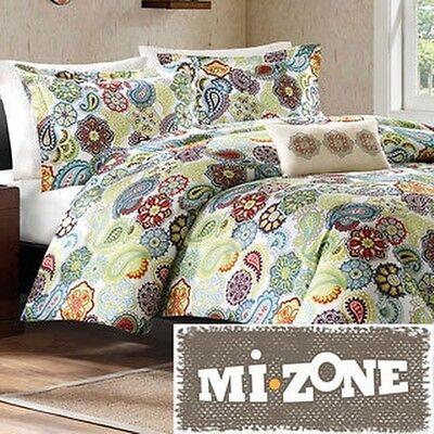 Mizone Asha 4-piece Duvet Cover Set
