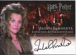 Image Is Loading Harry Potter Prisoner Of Azkaban Autograph Julie Christie