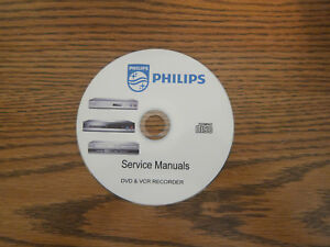 philips service schematics pdfs manuals dvd vcr audio recorder on rh ebay com Philips DVD Recorder Troubleshooting Philips DVD VHS Combo Recorder