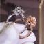 Gorgeous-White-Sapphire-Flower-Ring-925-Silver-Wedding-Engagement-Jewelry-Sz5-11 thumbnail 1