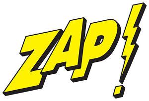 Framed Print Zap Pop Art Batman Comic Book Artwork