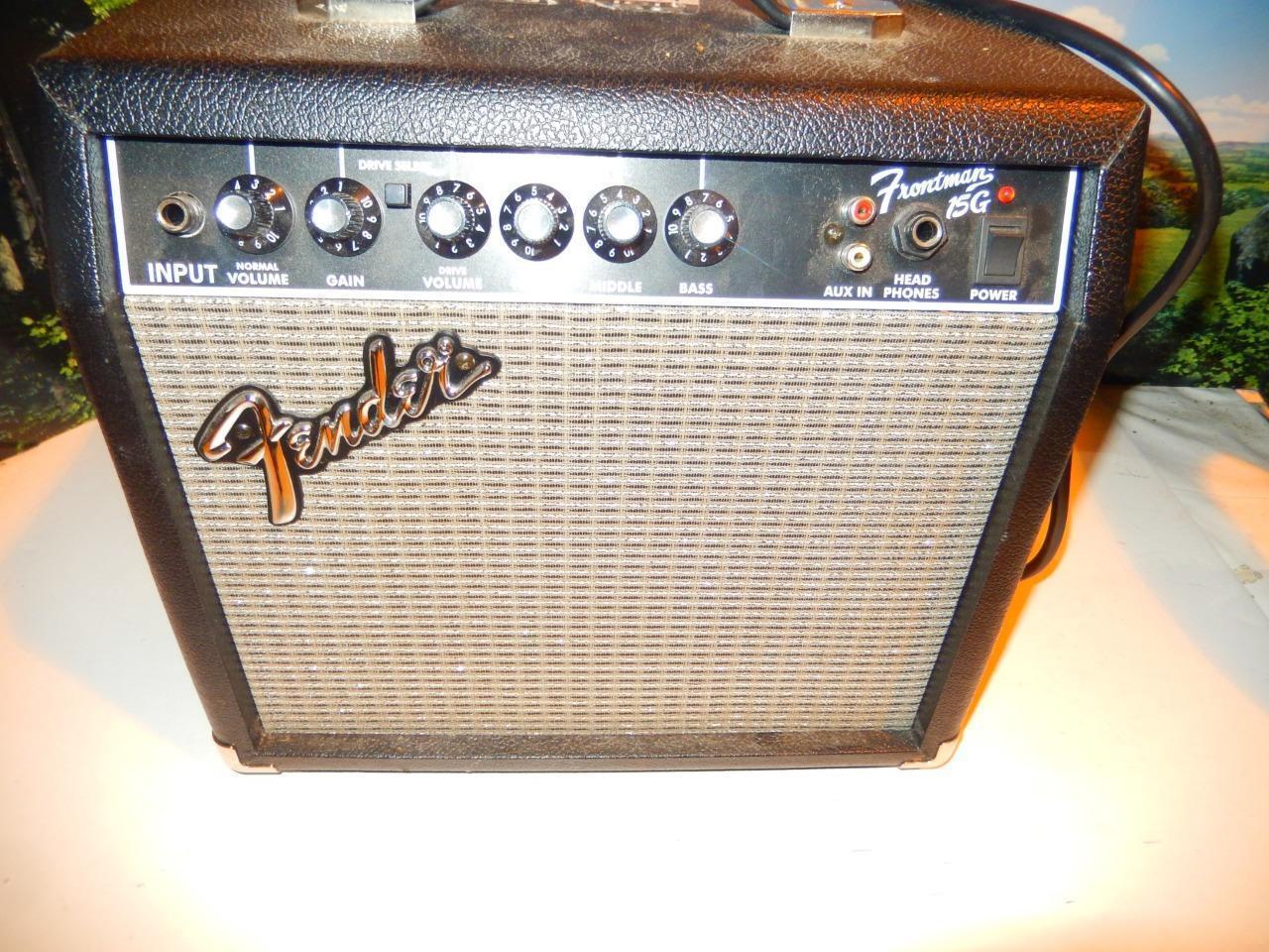 Fender Frontmann 15G Gitarre Amplifier- EXC Zustand