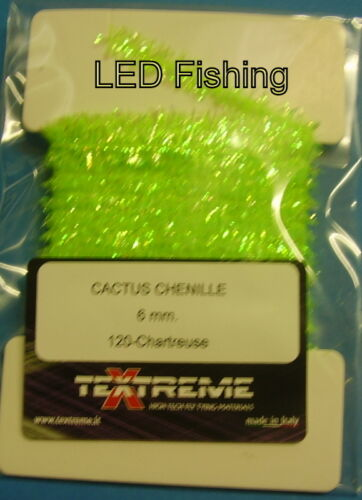 Textreme Cactus Chenille 6mm Fly Tying Material PCC6