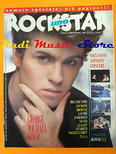 rivista ROCKSTAR 72/1986 POSTER David Bowie George Michael Jackson Browne* No cd