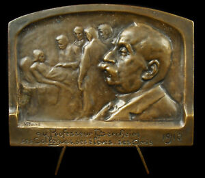 Medal-Hippolyte-Bernheim-Victor-Proven-1910-Neurologist-Hypnosis-Psychotherapy