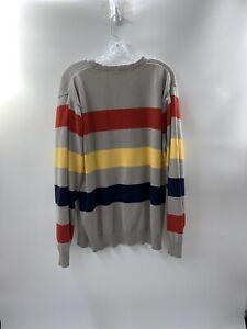 LRG-Women-039-s-Striped-Plus-Size-Sweater-Size-2XL