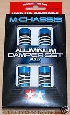 Tamiya 54000 M-Chassis Aluminum Damper Set (4 Pcs.) (M03/M04/M05/M06/M07), NIB