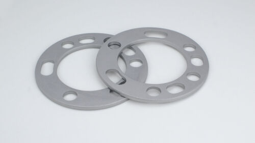 """1//4/"""" Thickness 4 Aluminum Wheel Spacers For 5 x 5.5/"""" 6 x 5.5/"""""""