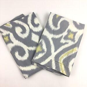 California-Design-Den-Pillow-Shams-Set-Standard-Size-Gray-White-Contemporary