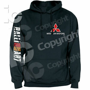 Felpa-Mitsubishi-Motors-Ralliart-Rally-Hoodies-Car-Speed-Racing-Pista-Drifting