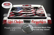 American Flag Rocks Rear Window Graphic Decal Sticker Truck Car SUV