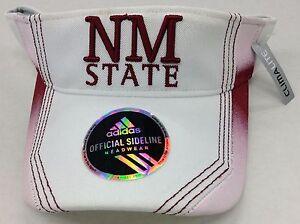 b063472d537 NCAA New Mexico State Aggies Adidas Sun Visor With Adjustable Velcro ...