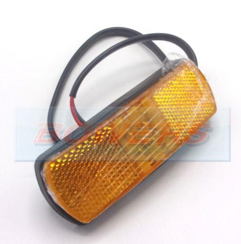 12 V 24 V Volt Ambre Orange DEL Position Latéral Réfléchissant Lampe 8141B 0.171.60