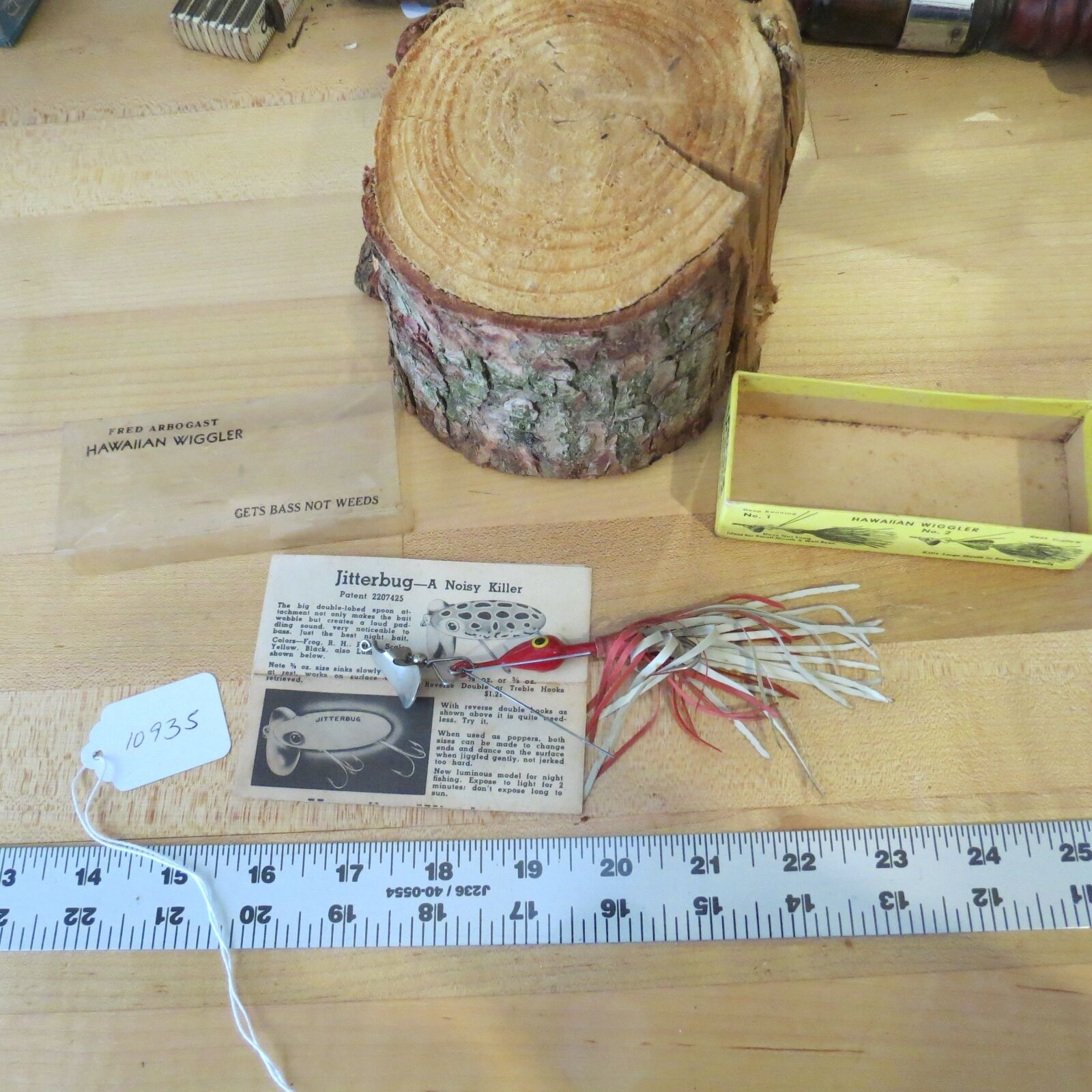 Vintage  Hawaiian Wiggler  Deep Runner fishing lure (lot)  discount