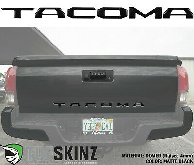 6 Piece Kit Glove Box Inserts Domed Real Carbon Fiber - Fits 2016-up Tacoma TufSkinz