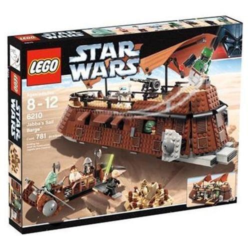 Estrella guerras LEGO 6210 JABBA'S  SAIL BARGE Set w  8 Minicifras   BRe nuovo SEALED  in linea