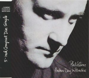 Phil-Collins-Maxi-CD-Another-Day-In-Paradise-Germany-EX-EX