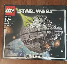 LEGO STAR WARS DEATH STAR 10143 Original 2005 NEW Open Outer Box