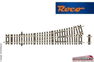 ROCO-42440-WI-15-H0-1-87-Deviatoio-scambio-sinistro-lunghezza-230mm-angolo-1
