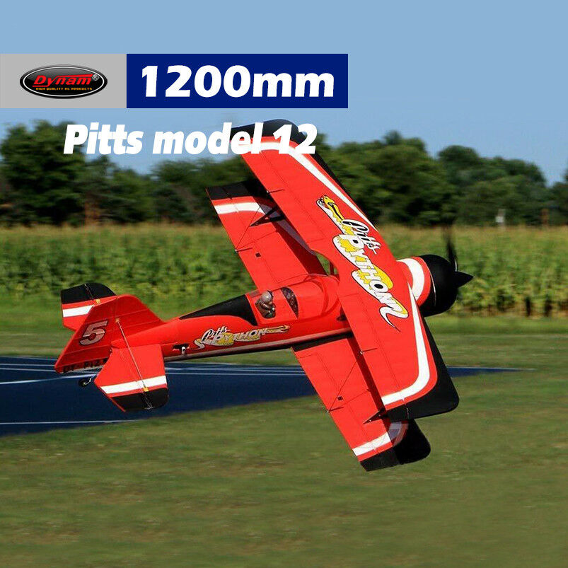 Dynam Pitts Model 12 rosso 1070mm Wingspan - SRTF