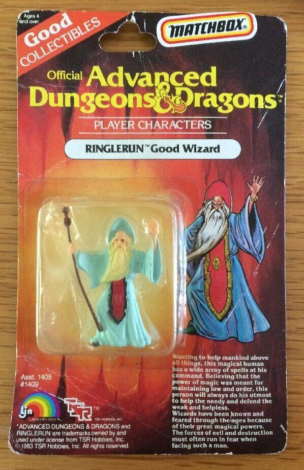 AD&D personaggio del giocatore ringlerun buona procedura guidata da TSR 1983 BLISTER RARO