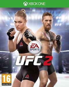 2-Sports-UFC-EA-MICROSOFT-XBOX-ONE-VIDEO-GAME-NUOVI-SIGILLATI-Gratis-P-amp-P