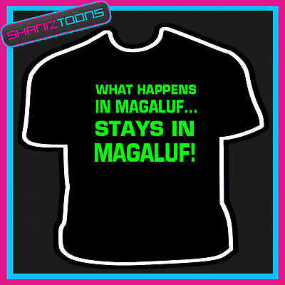 MAGALUF HOLIDAY dance music funny hen stag party gift idea mens womens T SHIRT