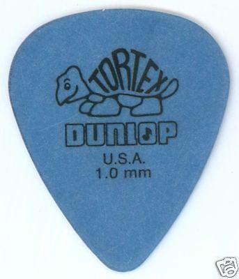 6 Pack of Dunlop Tortex Standard Flatpick 1.0mm