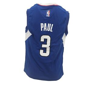 best service 1a385 2628b Details about Los Angeles Clippers Official NBA Adidas Kids Youth Size  Chris Paul Jersey New