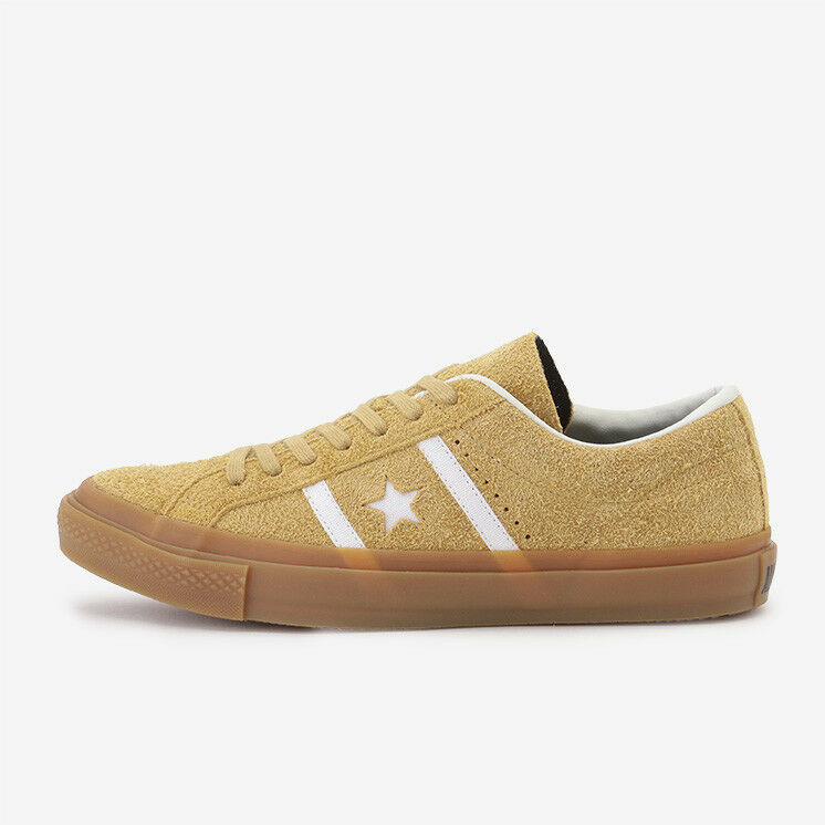 CONVERSE ONE STAR STAR&BARS SUEDE GM braun Limited Japan Exclusive