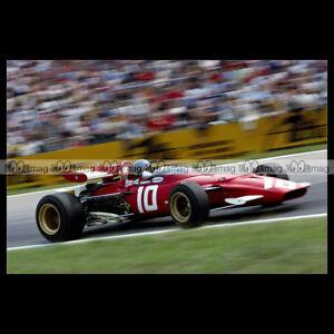 #pha.014109 Photo FERRARI 312 B JACKY ICKX GP F1 HOCKENHEIM 1970 Car Auto bXeVPLWO-09093959-800918149