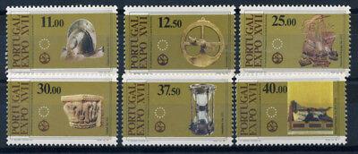 1595-1600 Postfrisch 100% Kunst Kultur Mit Traditionellen Methoden Treu Portugal 1983 Mi Portugal & Kolonien