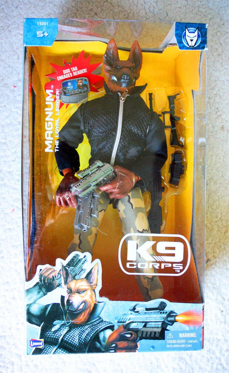 K9 cuerpo  Magnum (Lanard, 2006). muy Raro difícil de encontrar  nuevo en caja, Viejo Stock