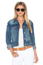 J Brand Harlow Shrunken Denim Jacket Fiction Size S (UK 8/10) Box4632 A