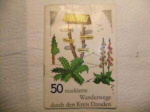 kleines Wanderheft , Kreis Dresden 1984