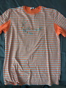 778ae499aaed KARL KANI 2Pac/Tupac 90s Retro Rap Striped Mens T-Shirt Large Made ...