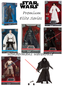 Figurine Action de la série Star Wars Premium Elite - officiel Disney - neuf et emballé