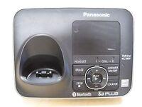 Panasonic KX-TG7621 DECT 6.0 Plus Single Line Cordless Phone Main Base