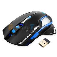E-3lue E-blue Mazer Ii Gaming Mouse Wireless Led 2.4ghz Optical Mice+usb Receive