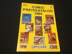 Peter Skodzig Comic Preiskatalog 1984 mit 116 Seiten Wertangaben in DM