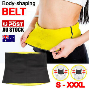 Hot-Shapers-Belt-Slimming-Body-Shaper-Belly-Waist-Tummy-Trimmer-Fat-Burn-Sweat
