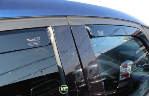 DFO15261 viento desviadores Ford S-Max mk1 de 5 puertas 2006-2010 4pc Heko Teñido